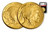 2017 50 Dollar 1-oz Gold Buffalo NGC MS69 Early Release 225th Anniversary - Black