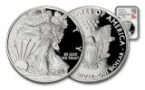 2017 1 Dollar 1-oz Silver Eagle Proof NGC PF70UCAM First Releases Mercanti Signed
