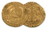 1360-1369 Great Britain Gold Noble Edward III XF