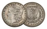 1897-P Morgan Silver Dollar VF