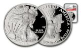 2017-W 1 Dollar 1-oz Silver Eagle Proof NGC PF70UCAM Early Release 225th Anniversary