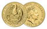 2017 Great Britain 25 Pound 1/4-oz Gold Queen's Beasts The Dragon Uncirculated