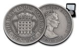 2017 St Helena 28g Silver Testern Proof
