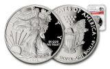2017-W 1 Dollar 1-oz Silver Eagle Proof NGC PF69UCAM 225th Anniversary