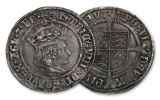 13th Century Great Britain 4 Pence Silver Groat Henry VIII VF