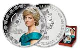 2017 Tokelau 10 Dollar 5-oz Silver Princess Diana Proof