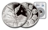 2017 Mexico 2-oz Silver Libertad NGC PF70UCAM First Releases