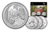 3pc 2017 America the Beautiful Ozark National Scenic Riverways Quarter Set