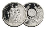 1990 Switzerland Silver Shooting Thaler Winterthur Proof