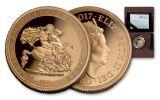 2017 Great Britain 1/2-oz Gold Sovereign Piedfort Proof