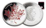 2017 Canada 50 Dollar 5-oz Silver Canadian Icon Proof