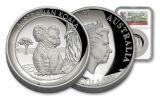 2017 Australia 1 Dollar 1-oz Silver Koala High Relief NGC Gem Proof - First Struck