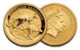 2018 Australia 50 Dollar 1/2-oz Gold Kangaroo Brilliant Uncirculated