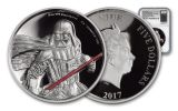 2017 Niue 5 Dollar 2-oz Silver Darth Vader Ultra High Relief NGC PF69UCAM First Releases