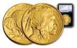 2018 50 Dollar 1-oz Gold Buffalo NGC MS69 First Releases - Black