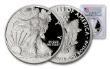 2018-W 1 Dollar 1-oz Silver Eagle PCGS PR70DCAM First Strike Flag Label