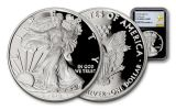 2018-W 1 Dollar 1-oz Silver Eagle NGC PF70UCAM First Releases Gold Star Label - Black