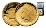 2017 1/2-oz Gold Double Eagle Indian Proof NGC PF69UCAM