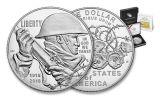 2018-P 1 Dollar Silver World War I Centennial Proof