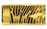 2018 Tanzania 1500 Shilling 1-gram Gold Big Five Water Buffalo Proof-Like