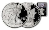 2017-W 1 Dollar 1-oz Silver Eagle NGC PF70UCAM Charlie Duke Signed - Black
