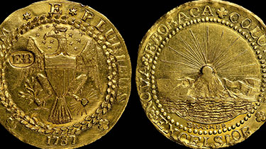 The Brasher Gold Half Doubloon