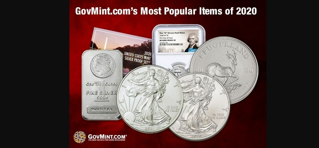 GovMint.com's Most Popular Items of 2020