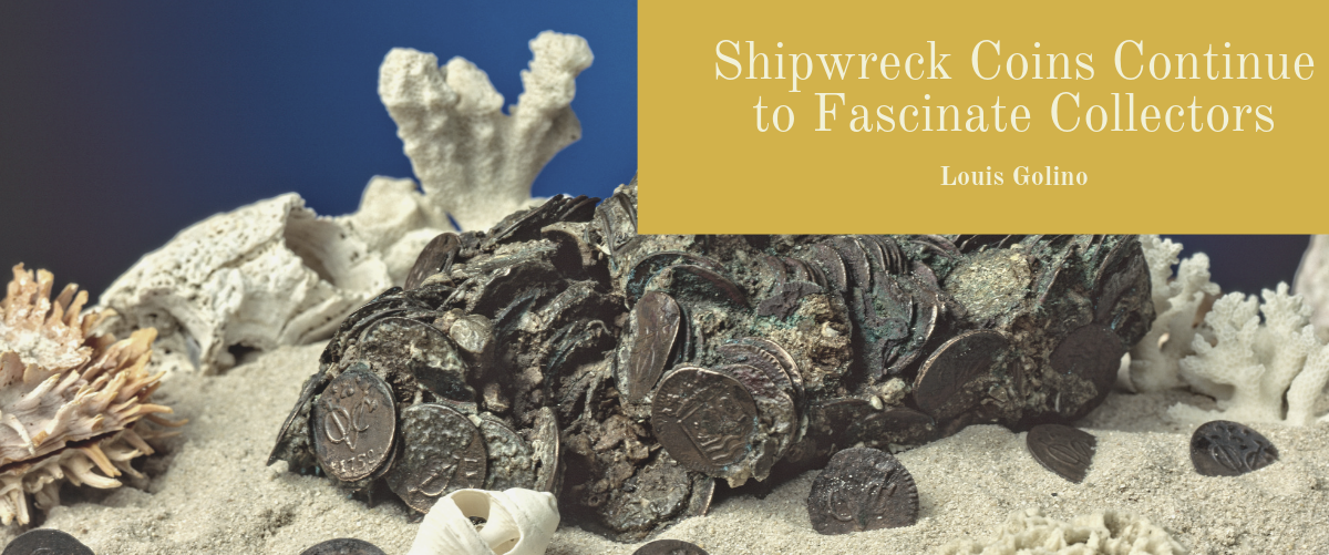 Shipwreck Coins Continue to Fascinate Collectors