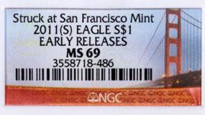 """Secret"" US Silver Eagles"