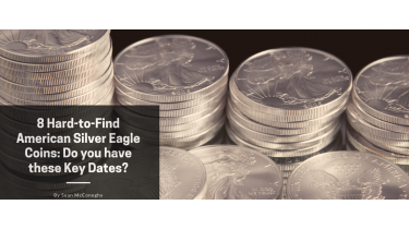 8 Hard-to-Find American Silver Eagle Coins: Do you have these Key Dates?