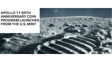 Apollo 11 50th Anniversary Coin Program Launches from the U.S. Mint