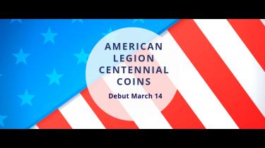 2019 American Legion Centennial Coins Debut March 14