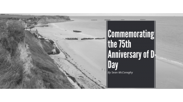 Commemorating the 75th Anniversary of D-Day
