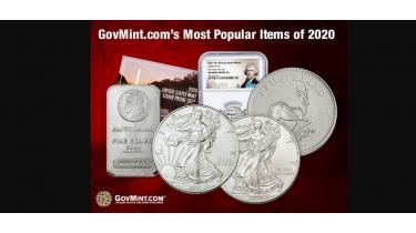GovMint.com's Most Popular Items of 2020
