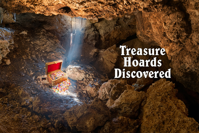 Discovered Buried Treasure