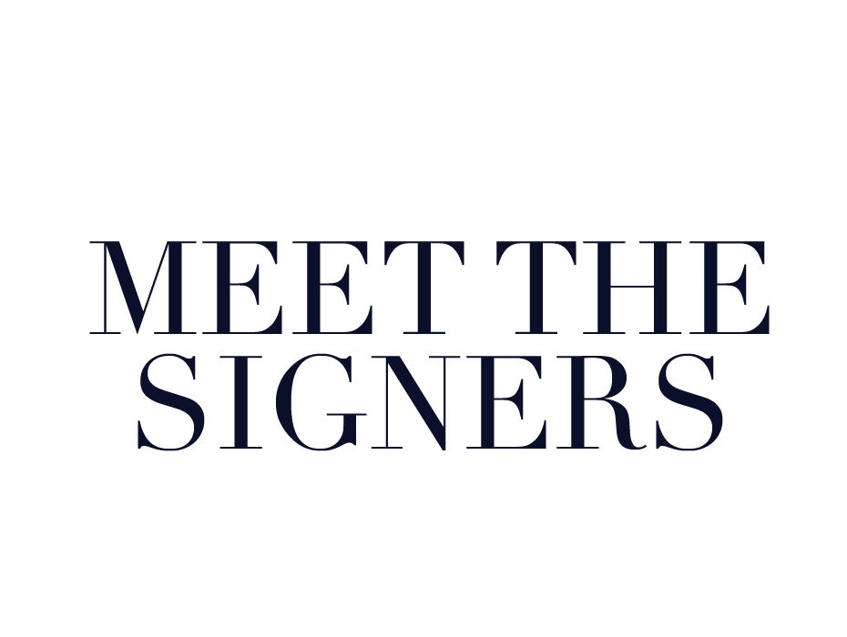 Meet the Signers Title