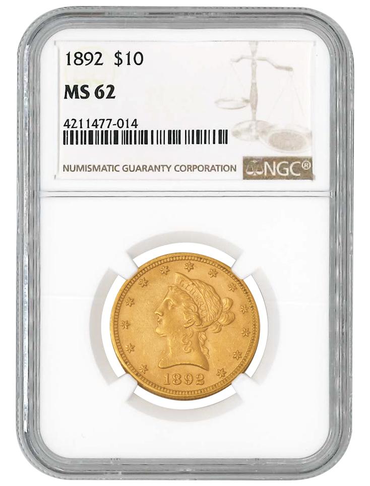 $10 Gold Liberty NGC