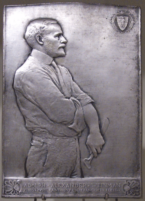 Weinman sculpted by Anthony de Francisci