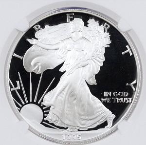1995-W Proof American Silver Eagle