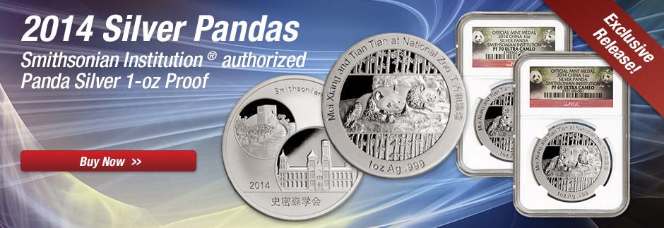 2014 Smithsonian Silver Panda