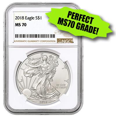 Silver Eagle MS70