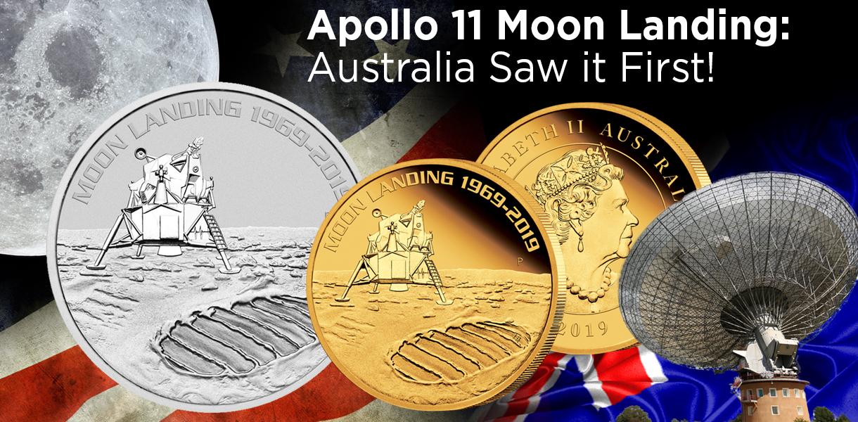 Australian apollo 11 coin