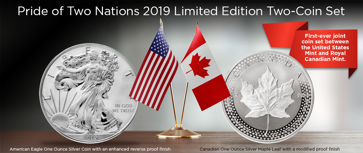 US Mint and Canadian Mint set header