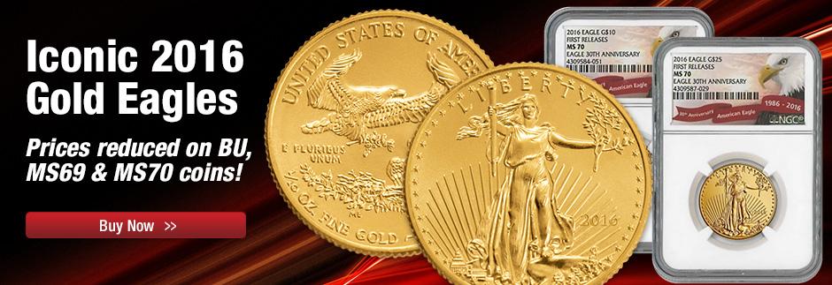 2016 $50 Gold Eagle