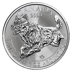 Canada Silver Predators Coin Series 2018 Wolf