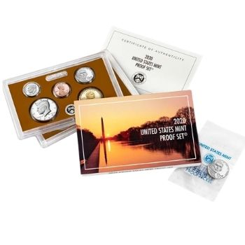 2020 United States Mint Proof Set with bonus Jefferson Nickel