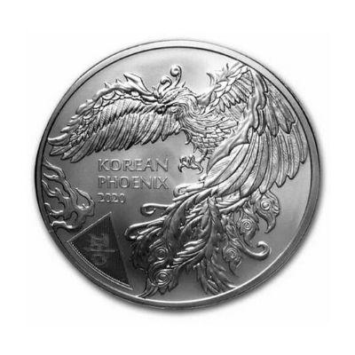 South Korean Phoenix Medal Series from KOMSCO