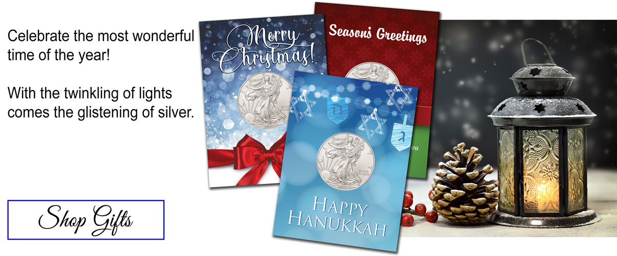 Celebrate the most wonderful time of the year! With the twinkling of lights comes the glistening of silver. Shop gifts.