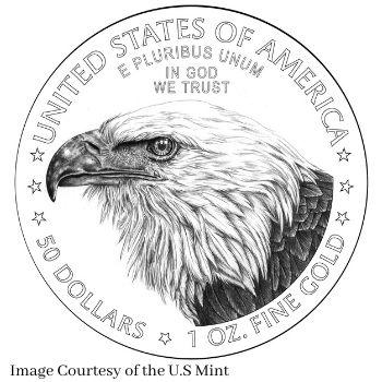 New Reverse Design 2021 American Gold Eagle