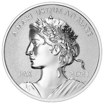 2021 Canada Peace Dollar